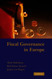 Fiscal Governance in Europe by Mark Hallerberg