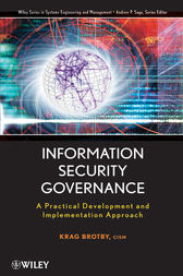 Information Security Governance by Krag Brotby