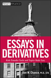 Essays in Derivatives by Don M. Chance