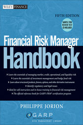 Financial Risk Manager Handbook by Philippe Jorion