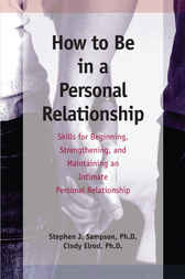 How to Be in a Personal Relationship by Stephen Sampson