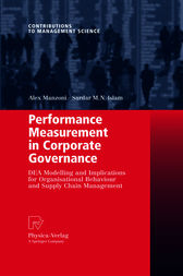 Performance Measurement in Corporate Governance by Alex Manzoni