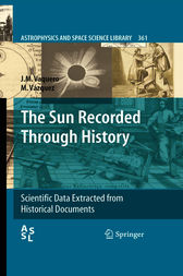 The Sun Recorded Through History by J.M. Vaquero