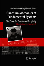Quantum Mechanics of Fundamental Systems: The Quest for Beauty and Simplicity by Marc Henneaux