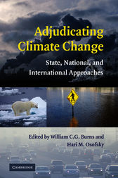 Adjudicating Climate Change by William C. G. Burns