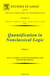 Quantification in Nonclassical Logic by Dov M. Gabbay