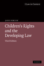 Children's Rights and the Developing Law