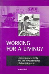 Working for a Living? by Helen Barnes