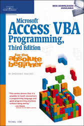 Microsoft Access VBA Programming for the Absolute Beginner by Michael Vine