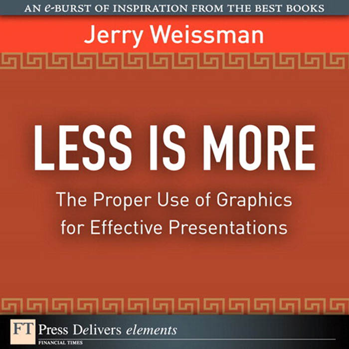 Download Ebook Less Is More by Jerry Weissman Pdf