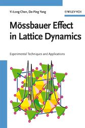 Mössbauer Effect in Lattice Dynamics: Experimental Techniques and Applications