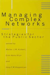 Managing Complex Networks by Walter J M Kickert