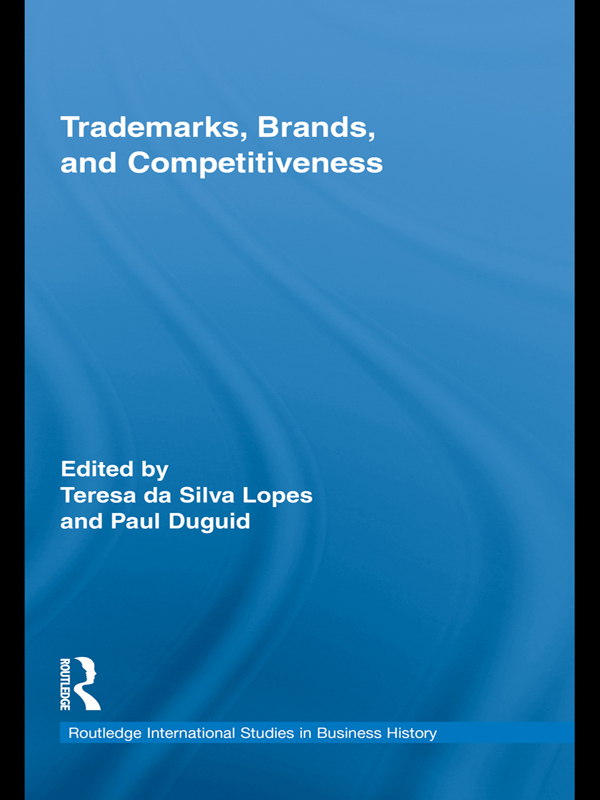 Download Ebook Trademarks, Brands, and Competitiveness by Teresa da Silva Lopes Pdf