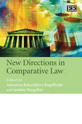 New Directions in Comparative Law by Antoni Bakardjieva Engelbrekt
