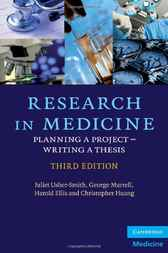 Research in Medicine by Juliet Usher-Smith