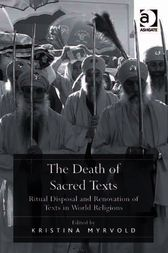 The Death of Sacred Texts by Kristina Myrvold