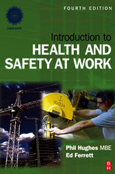 Introduction to Health and Safety at Work by Ed Ferrett