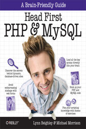 Head First PHP & MySQL by Lynn Beighley