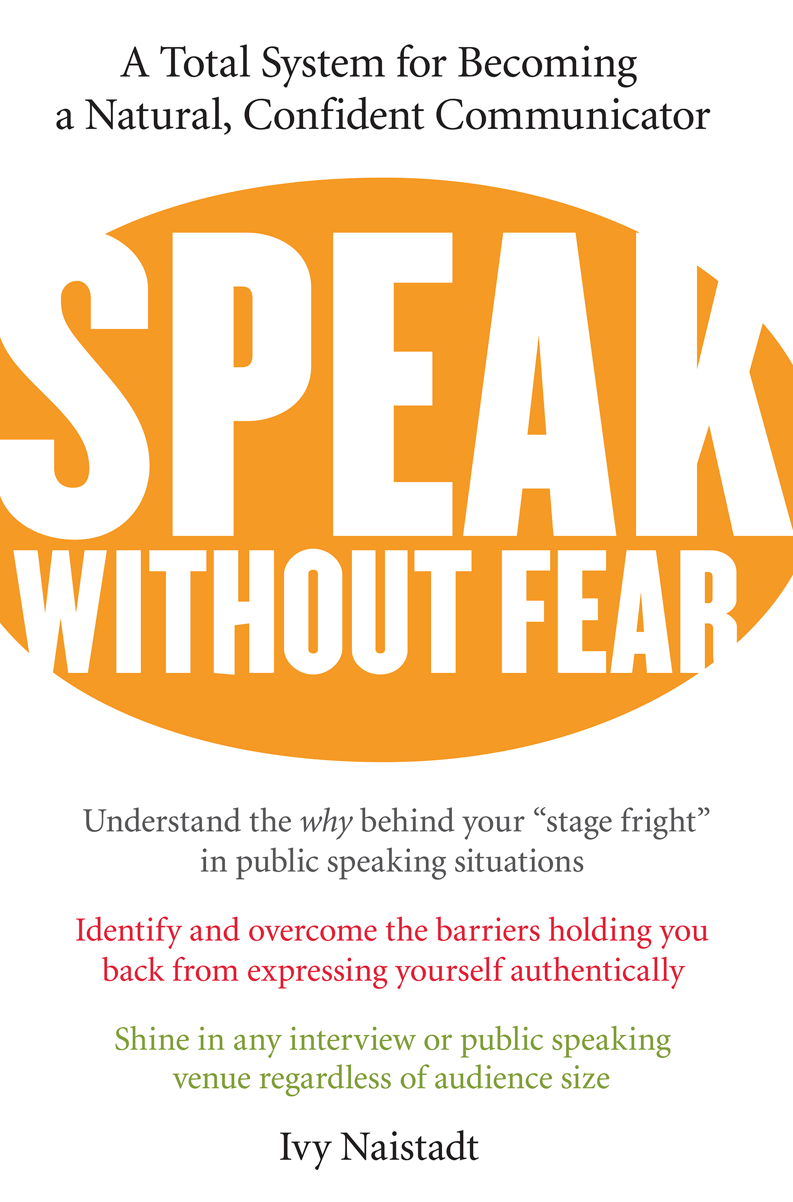 Download Ebook Speak Without Fear by Ivy Naistadt Pdf