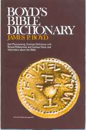 Boyd's Bible Dictionary by James  P. Boyd