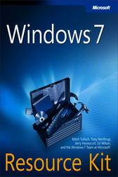 Windows® 7 Resource Kit by Mitch Tulloch