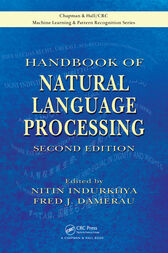 Handbook of Natural Language Processing, Second Edition by Nitin Indurkhya