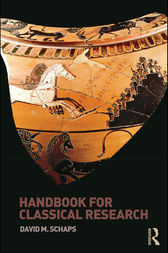 Handbook for Classical Research by David M. Schaps