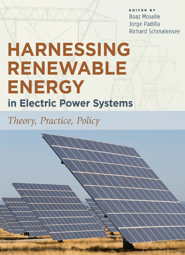 Download Ebook Harnessing Renewable Energy in Electric Power Systems by Boaz Moselle Pdf