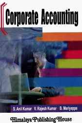 Corporate Accounting by S. Anil Kumar