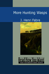 More Hunting Wasps by J. Henri Fabre