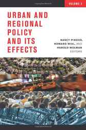 Urban and Regional Policy and Its Effects, 3 by Nancy Pindus
