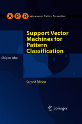 Support Vector Machines for Pattern Classification by Shigeo Abe