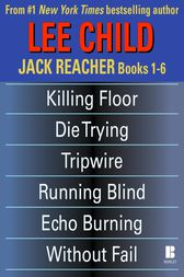 Lee Child's Jack Reacher Books 1-6 by Lee Child
