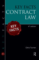 Key Facts Contract Law by Chris Turner