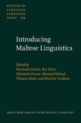 Introducing Maltese Linguistics by Bernard Comrie