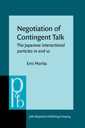 Negotiation of Contingent Talk by Emi Morita