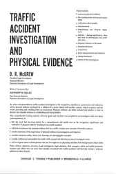 Traffic Accident Investigation and Physical Evidence by D.R. McGrew