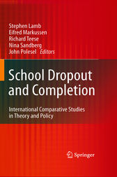 School Dropout and Completion by Stephen Lamb