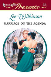 Marriage on the Agenda by Lee Wilkinson