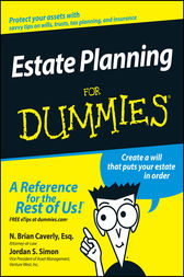 Estate Planning For Dummies by N. Brian Caverly