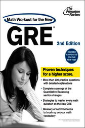 Math Workout for the New GRE, 2nd Edition by Princeton Review
