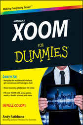 Motorola XOOM For Dummies by Andy Rathbone