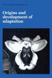 Origins and Development of Adaptation by CIBA Foundation Symposium