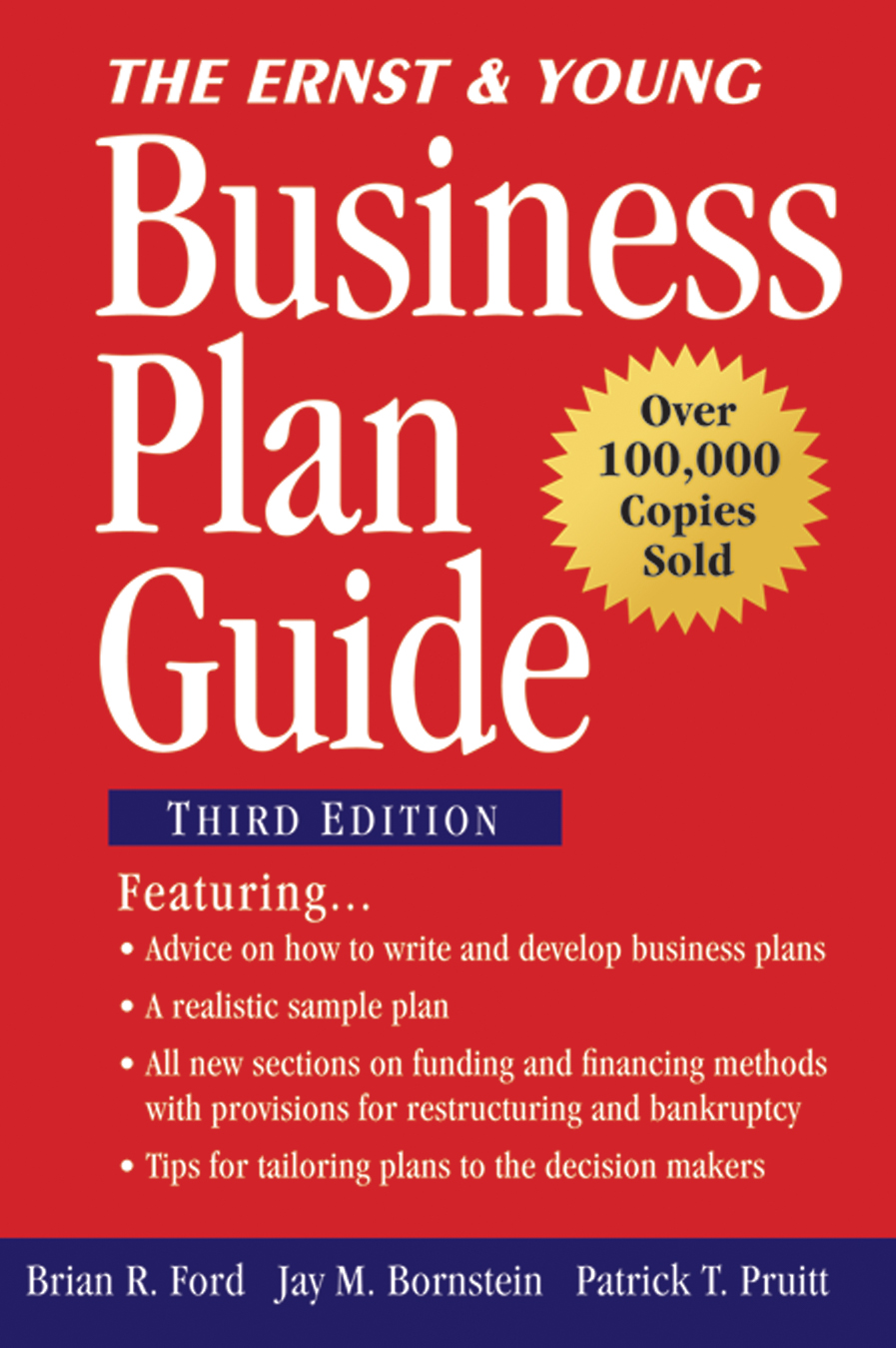 Download Ebook The Ernst & Young Business Plan Guide (3rd ed.) by Brian R. Ford Pdf
