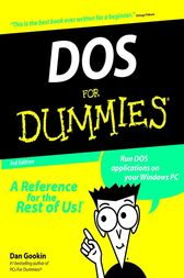 DOS For Dummies by Dan Gookin