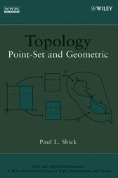 Topology by Paul L. Shick