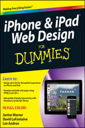iPhone and iPad Web Design For Dummies by Janine Warner