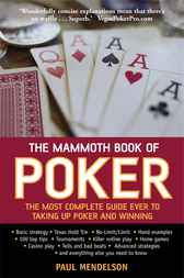 The Mammoth Book of Poker by Paul Mendelson