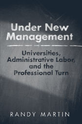 Under New Management by Randy Martin