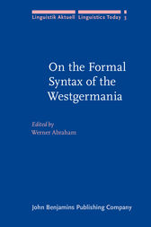 On the Formal Syntax of the Westgermania by Werner Abraham